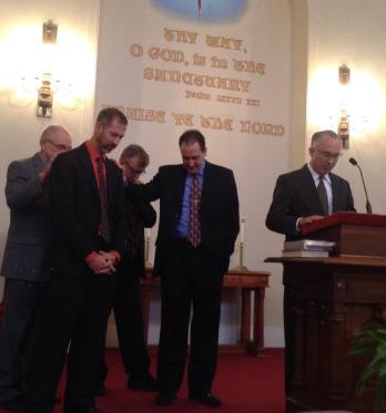 Installation of Pastor Peter Bailey