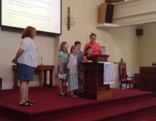 Youth Sunday School presentation