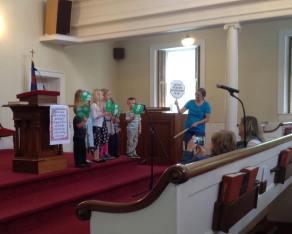 Children's Sunday School presentation