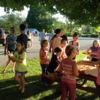 Summer youth pizza party