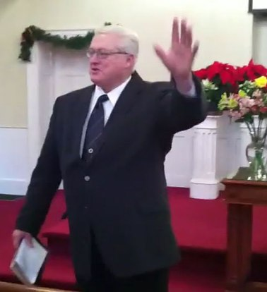 Interim Pastor Dick Brookes