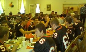 Football Breakfast