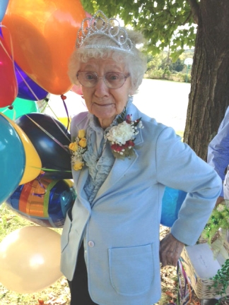 Birthday Celebrations 100yrs old!